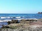 Playa de San José a 5 minutos andando