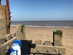 Our beach..