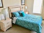 2nd bedroom - queen bed