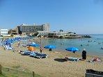 Nearby beach in Pernera