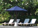 Villa Insulinde sunbeds