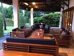 Villa Insulinde terrace