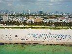 The Netherland Condominium, Ocean Drive, Lummus Park and the Beach