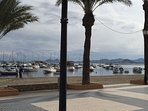7 Mile, flat promenade surrounds the Mar Menor lagoon. Eat, drink or just chill out!