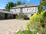 Hayloft cottage with stone and granite steps to entrance door
