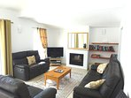 Lounge with comfortable and ample family seating areas. Flat screen tv and wifi.