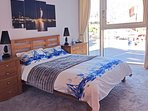 Master Bedroom with views of Spinnaker Tower