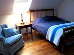 Sleeping loft—double bed