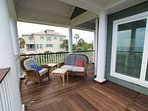 Oceean Front Covered Porch