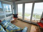 Ocean Front Rooftop Aerie, Single Sleeper Chair