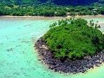 our namesake 'Taakoka' Motu (island)