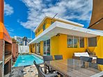 Retreat to a tropical paradise at this vacation rental house in San Juan!