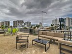 This optional terrace has amazing views available for $100!