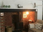 Wood burner for a cosy Autumn stay