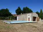 Beautiful Charentaise property in the countryside near the ocean