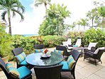 Coral Cove 3-Green Flash - The beautiful terrace has amazing ocean views
