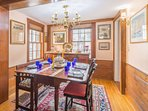 Well-appointed accommodations - visitors can experience colonial style dining.