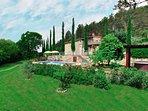 Villa in Tuscany with private pool: Villa le Capanne