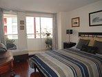 Dormitorio Principal, Balcón