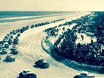 "If you did not know (Not Daytona) my Ormond Beach is the ""Birth of Speed"" Vroom vroom"