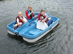 2x4-seat pedalos - FREE USE, subject to availability