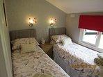 Bedroom 2 as 2 x singles