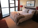 Main bedroom with seaviews