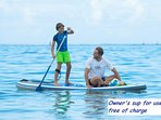 OWNER'S STAND UP PADDLE BOARD (SUP) FOR USE FREE