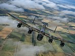 The famous Lancaster Bomber