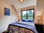Upper Level Queen Bedroom (2 of 2)