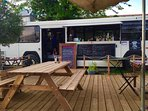 The Bus Brothers is one of the many local quirky Pop Up Summer Restaurants