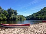 Canoe the Dordogne, all ages and abilities catered for. A great day out!
