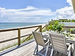 NEW! Charming Oceanfront Melbourne Beach Cottage!