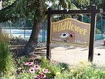 Wildflower Entrance Sign