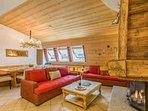 Le Paradis 18 apartment has a large open plan living room