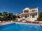 Beach Villa with Ocean Views