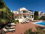Beach villa with Ocean views only minutes walk to the beach