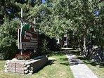 Sierra Park Villas Entrance in the Summer