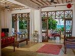 Monkey Beach House- main living room-level 1 -view 1