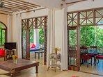 Monkey Beach House-Main living room -level1