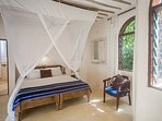 Monkey Beach House- ground flr- back bedroom