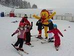 Pour les petits l'école de skis