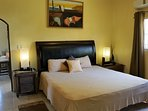 Master Suite - King Size Bed, Walk-In-Closet, AC, Safe Deposit Box