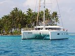Have this yacht all to yourselves tied to its slip at Stock Island Marina Village in Key West.