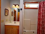 Soaking Tub/Shower Included - Relax Your on Vacation!