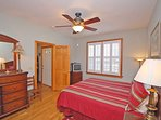 Relax in your Master Suite on the Main Level of The Jessamine - Easy!