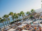 7km far from the villa the best Marbella's beaches.Here you'll find Nikki Beach