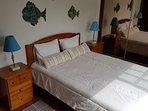Bedroom #3 - Double bed (ground floor)
