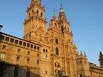 Catedral de Santiago, capital de Galicia