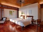 Villa Ananda - Twin bedroom interior